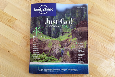 Lonely Planet USA Magazine | Gifts for Travelers