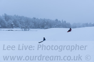 2021 Snow at Glencorse golf