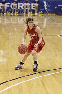 3/13/2014 CHSAA State Championships Eaton Reds Varsity Girl's Basketball vs Holy Family