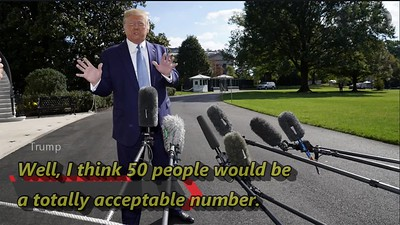 Acceptable death rate for Trump