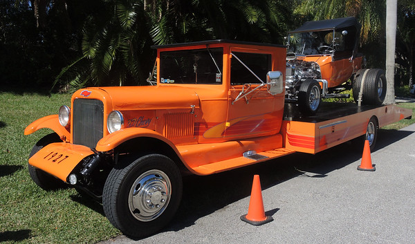 Saturday, February 11, 2017, McKee Botanical Gardens holds  its 8th annual car show