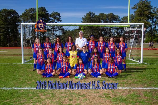 2019 Girls soccer Varsity