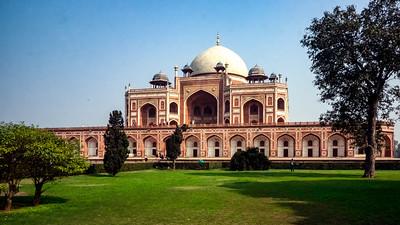 India Photo Journey: Humayun's Tomb and Qutub Minar