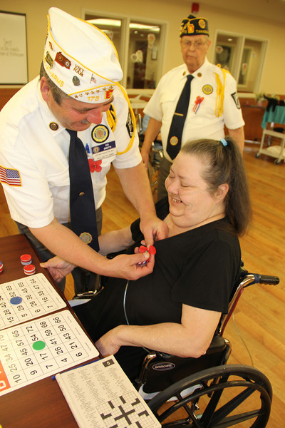 Tamaqua American Legion Visits Veterans, Nursing Home, Hometown (5-27-2013)