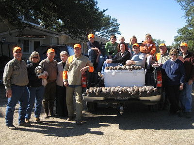 HARLAN FAMILY QUAIL HUNT 11/15/08 & 11/16/08