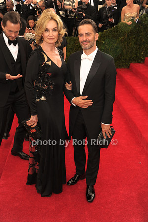 Jessica Lange and Marc Jacobs photo by Rob Rich © 2014 robwayne1@aol.com 516-676-3939