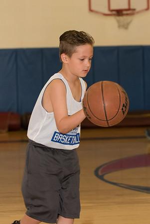 Dean and Carson Basketball game 3.18