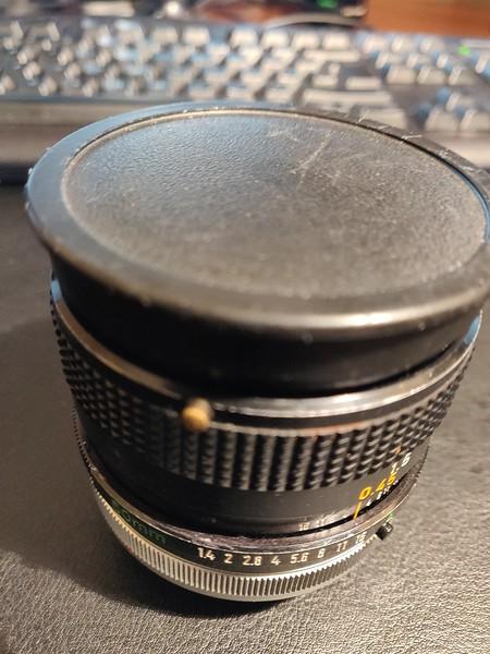 Canon FD 50 mm 1.4 S.S.C. - Serial Q1213 & 896737 005.jpg