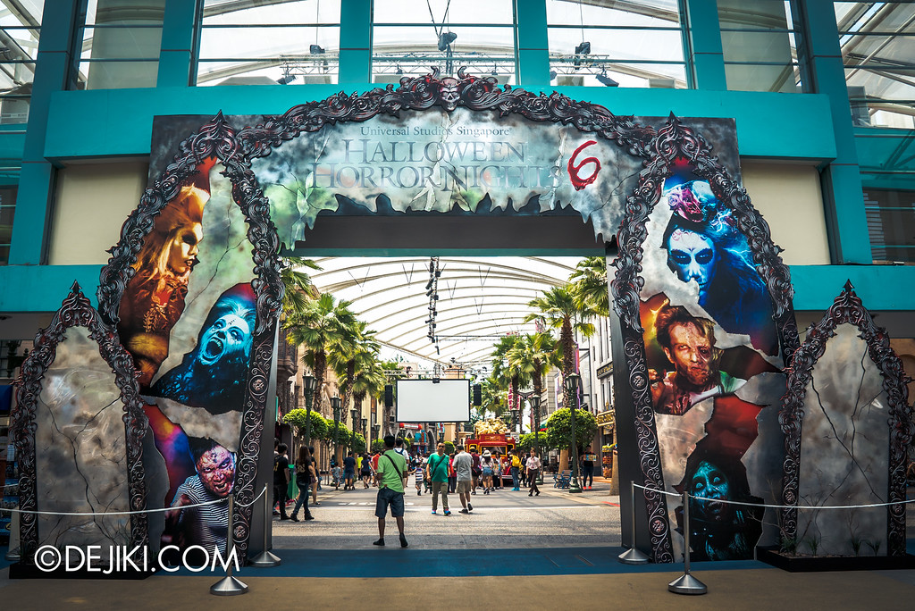 Universal Studios Singapore - Halloween Horror Nights 6 Before Dark Day Photo Report 4 - Mirrors of Darkness
