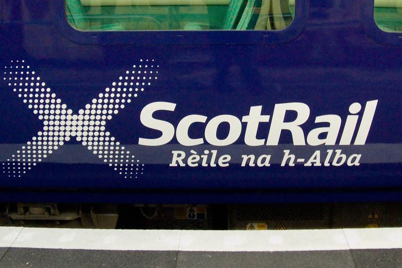 New ScotRail logo in Gaelic