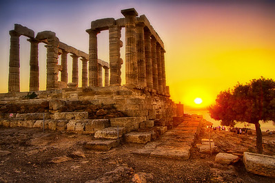 Patra-Epidaur-Corinth--Sounion