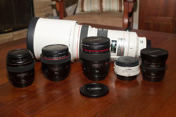 Prime Lens Lineup 07-14-2013