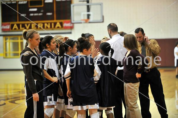Central Vs Wyomissing Girls Basketball 2009-2010