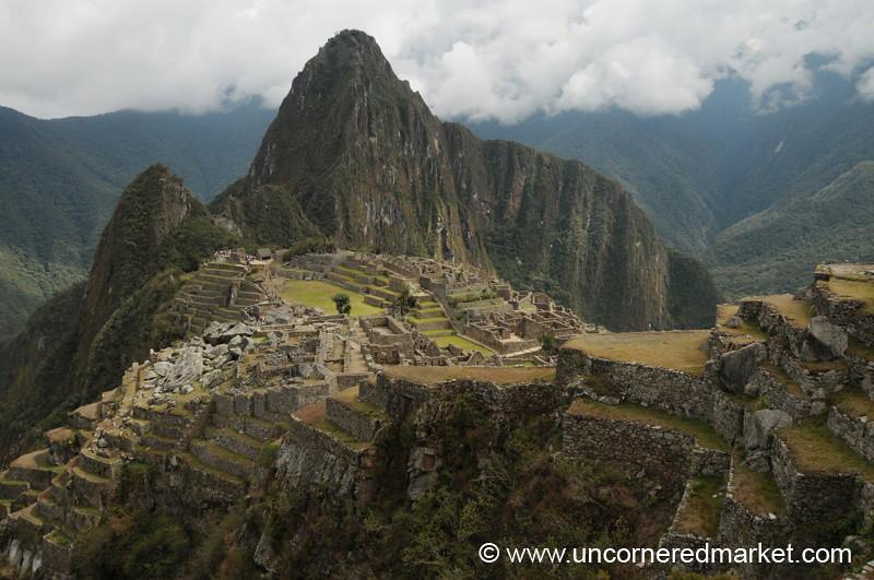 Clouds Lift From Machu Picchu - Peru