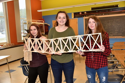 AMHS Bridge Builders…VTC Bridge Competition Winners photos by Gary Baker