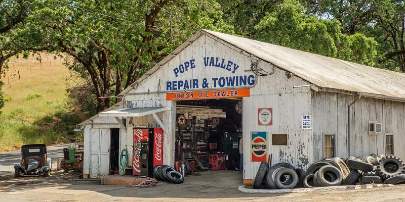 Pope Valley Garage