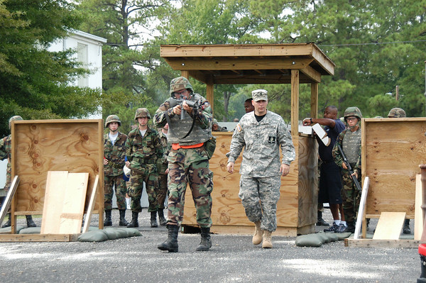 Officers Training at Fort Lee