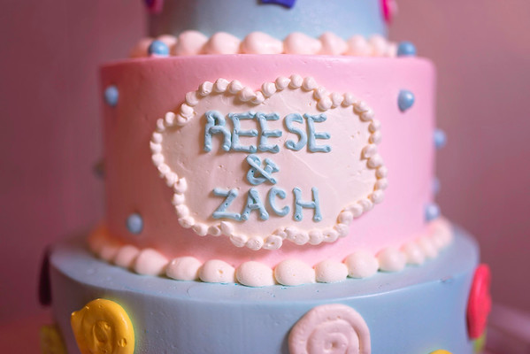 Zach & Reese 1st Bday