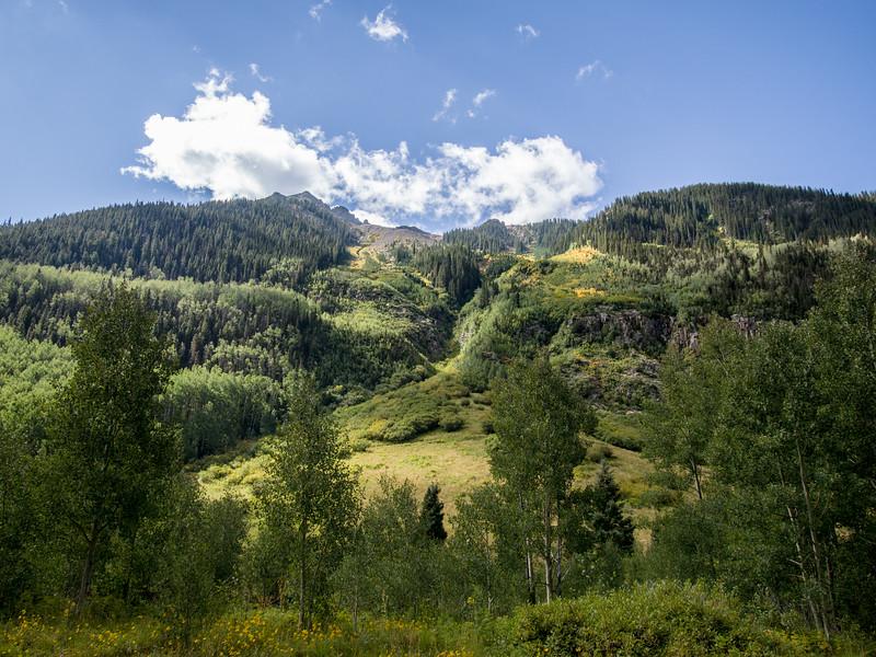 Mountains near Ophir