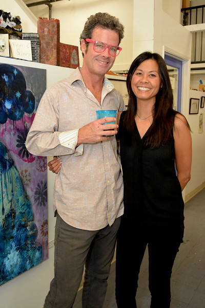 Barry Prince (Bazzamon) and Melanie Cheng