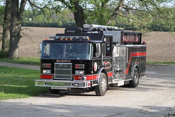 Walworth Wisconsin Live Fire Training Ridge Road