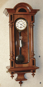 VR-359 - Minitature Austrian Transitional period Vienna Regulator