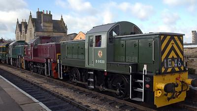 Nene Valley Railway diesels, 2007