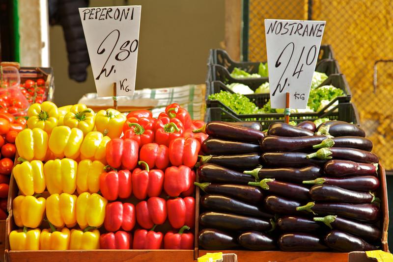 Market near the hotel