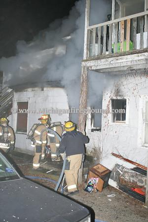 3/29/11 - Lansing house fire, 419 S. Pennsylvania