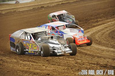Super DIRTcar Series @ Sharon Speedway - 7/21/16 - Paul Arch