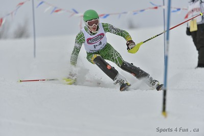 FIS Series - Slalom, Ladies CAN - ON - CAMP FORTUNE 3/2/2013