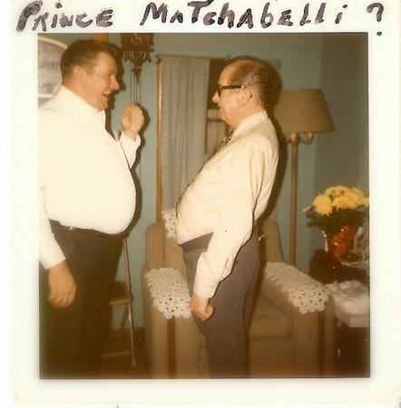 John and Frank compare 'profiles'.  :-)