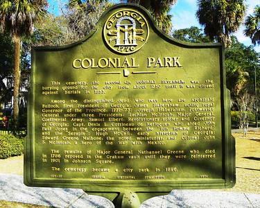 Colonial Park - Savannah
