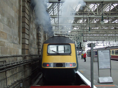 Arriva CrossCountry HST's at Glasgow Central, 5th June 2008