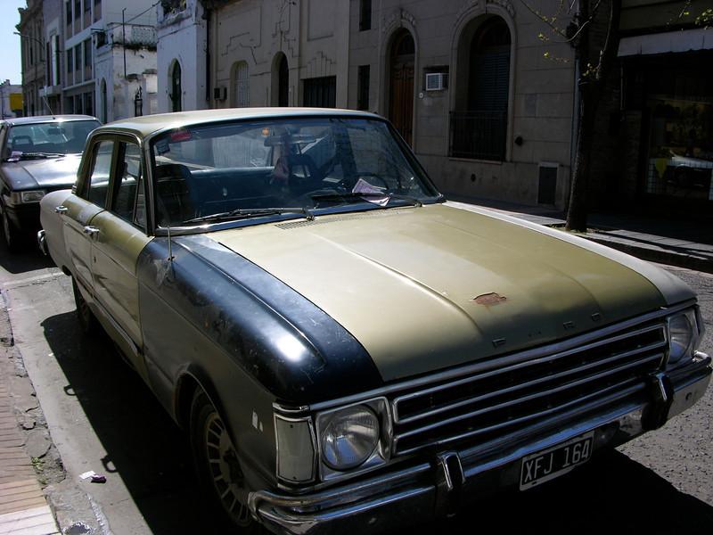 Argentina, San Nicolás. Jalopy car.