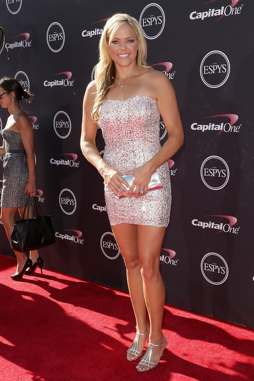 . Former softball player Jennie Finch  attends The 2013 ESPY Awards at Nokia Theatre L.A. Live on July 17, 2013 in Los Angeles, California.  (Photo by Frederick M. Brown/Getty Images)