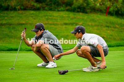 Golf: Rock Ridge vs. Briar Woods 09.11.2017 (by Al Shipman)
