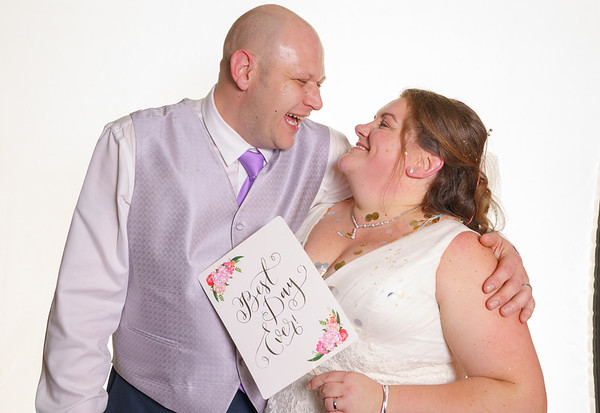 Caroline and Clive - Photo Booth