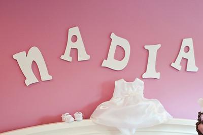Nadia's Baptism Day