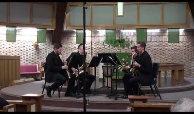 Frost Saxophone Quartet