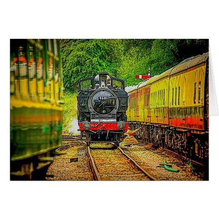 Greeting Cards - Steam Trains