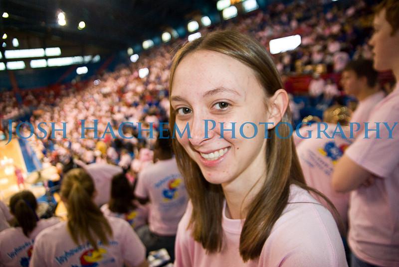 February 22, 2009  KU v ISU WBB Pink 006