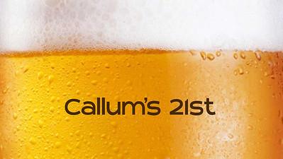 20.03 Callum's 21st