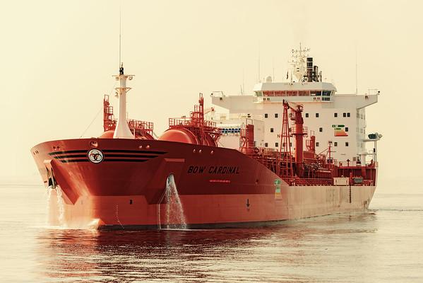 Ships in Odfjell's fleet