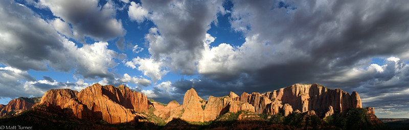 Kolob Canyons Pano