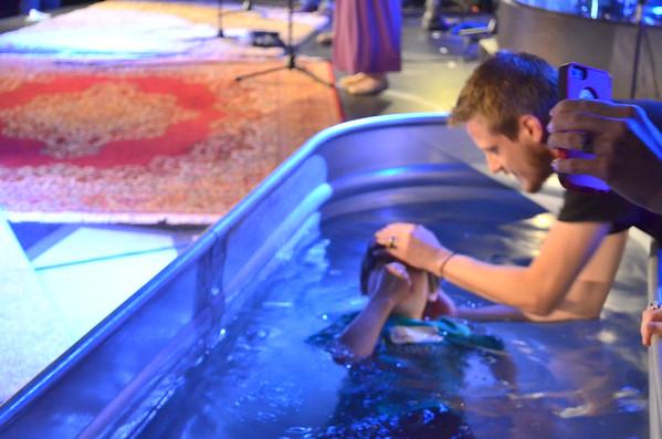 Baptism 4/26/15 8:30 am