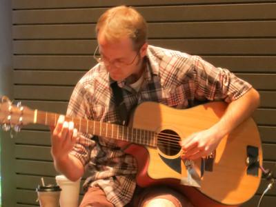 2012-09-23 Instrumentalists @ the Plaza- Guitarist J. David Black