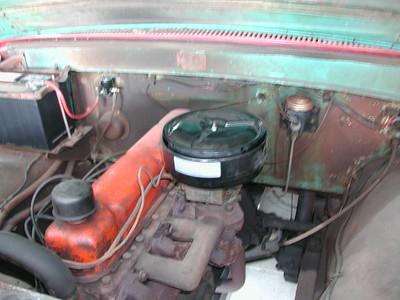 2002-08-04 - New Air Cleaner, since original one was stolen