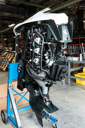 Marine New Engine Receival 2.4.2019