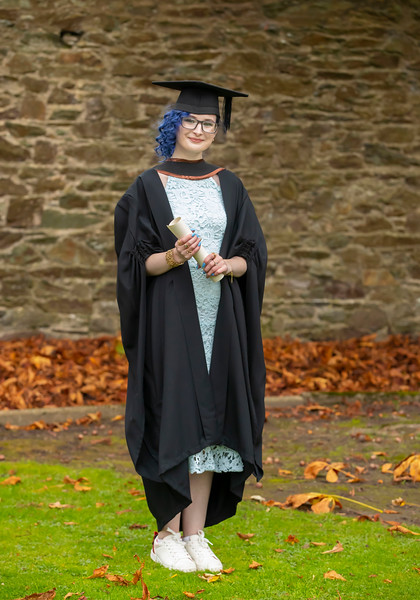 30/10/2019. Waterford Institute of Technology (WIT) Conferring Ceremonies.  Waterford Institute of Technology (WIT) Conferring Ceremonies. Pictured is Michaela Redmond who graduated BA Hons in Marketing and digital Media. Picture: Patrick Browne